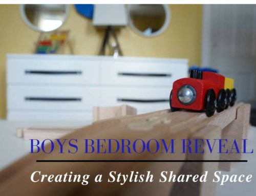 SHARED BOYS BEDROOM REVEAL : CREATING A STYLISH SPACE FOR BOYS